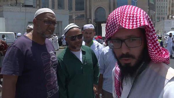 شاهد: اللغة العربية ... مشكلة قد تواجه معظم الحجاج أثناء الحج