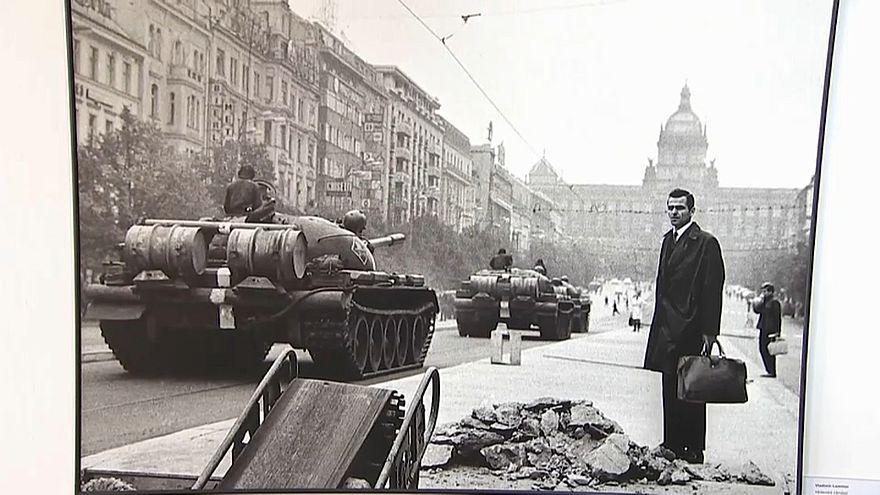 """Ausstellung """"Soviet Invasion"""" in Prag"""