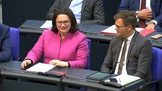 Wirtschaftskrise: SPD-Chefin Nahles will Türkei unterstützen