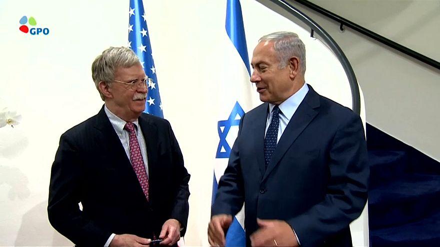 جون بولتون في إسرائيل لوضع حدّ للنفوذ الإيراني في سوريا