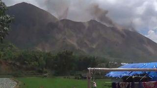 Nouvelles secousses à Lombok