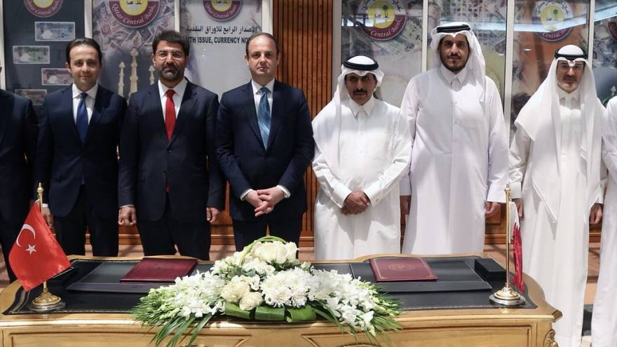Katar ve Türkiye merkez bankalarından swap anlaşması