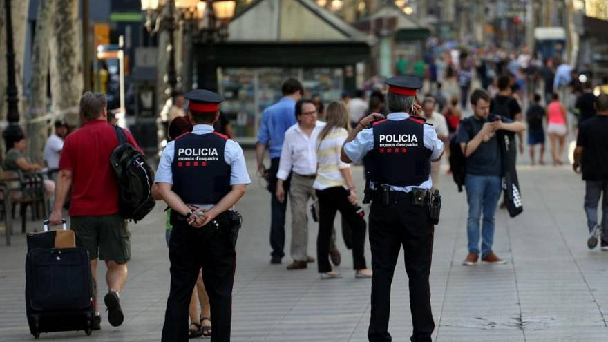 Imagen de ilustración de los Mossos d'Esquadra, la policía catalana.