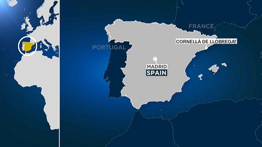 Lelőttek egy késes támadót Barcelona külvárosában