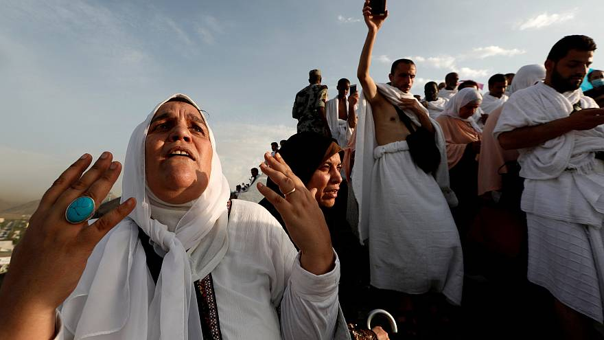 Millions of Muslims take part in annaul hajj pilgrimage