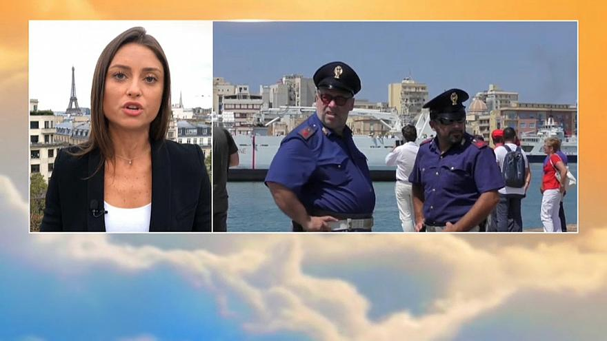 Italy is in a standoff with Malta over migrants