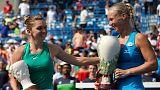 O troféu maior desta vez foi para a tenista menos cotada