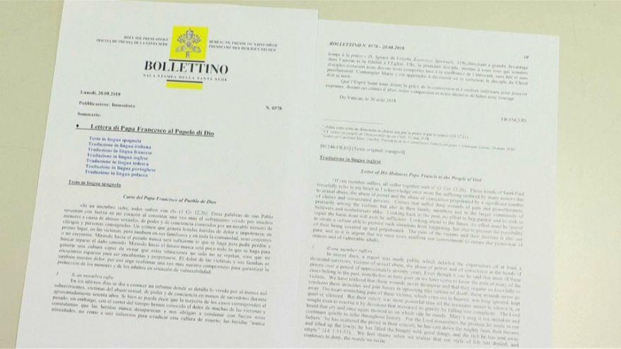 Pedofilia, il Papa chiede perdono
