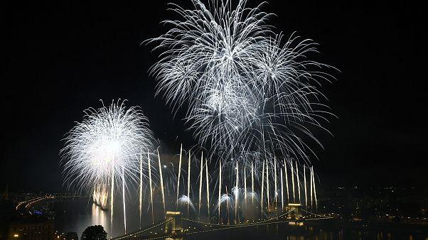 Véget ért az augusztus 20-ai tűzijáték