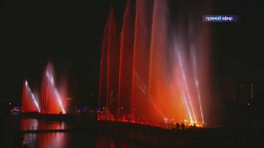 Szlovákia nyerte a moszkvai nemzetközi tűzijátékversenyt