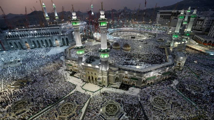 annual hajj pilgrimage in Mecca
