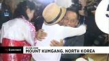 Watch: Korean families divided by war briefly reunited