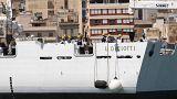 El Diciotti debería atracar en el puerto de Catania