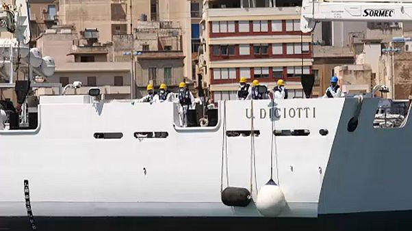 Szicíliában köt ki a Diciotti