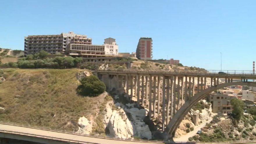 Chiuso in Sicilia un viadotto Morandi