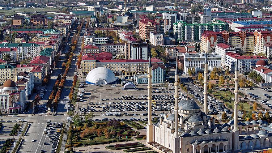 "Grozny. Mosque ""The Heart of Chechnya"""