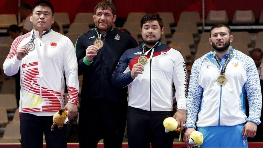 بازیهای آسیایی؛ پرویزهادی سومین مدال طلا  را برای ایران کسب کرد