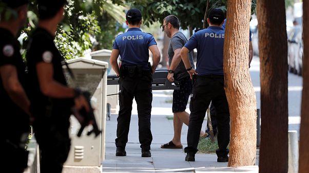 دستگیری یک نفر در ارتباط با تیراندازی به سفارت آمریکا در آنکارا