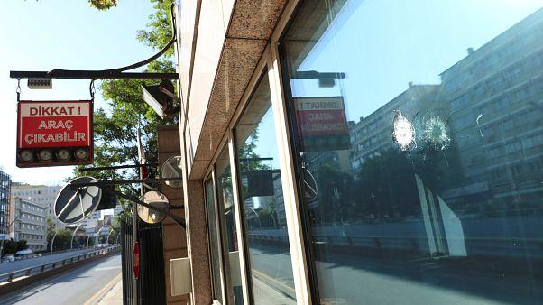 Un detendio por el ataque a la embajada de EEUU en Ankara