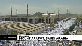 Hadsch: Zwei Millionen Menschen am Berg Arafat