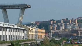 Families evacuated after Genoa bridge collapse move into new flats