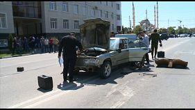 Нападения на полицейских в Чечне