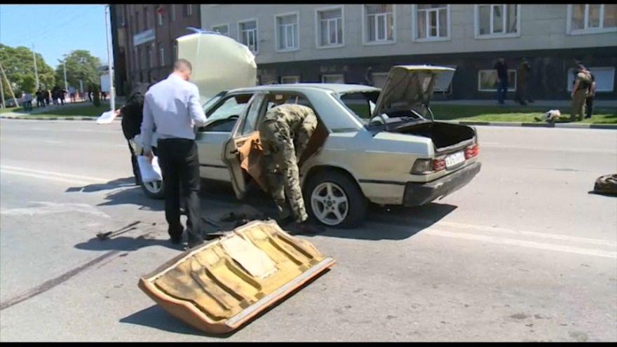Doble ataque terrorista en Chechenia