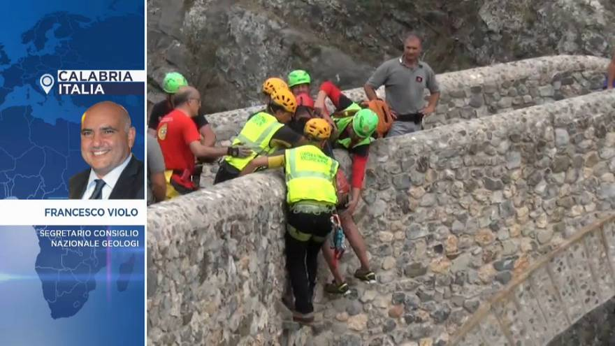 """Calabria, segretario consiglio geologi: """"escursionisti morti per tragica imprudenza"""""""