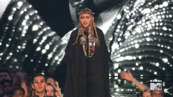 Tributo de Madonna a Aretha Franklin faz polémica nos Prémios MTV