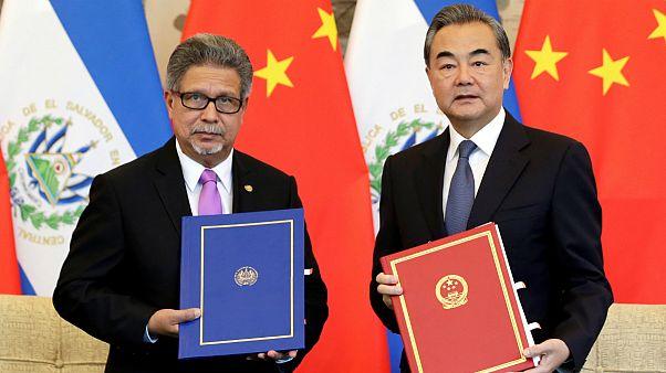 السالوادور و چین رابطه دیپلماتیک برقرار کردند