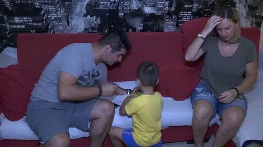 Griechische Familien trotzen der Krise