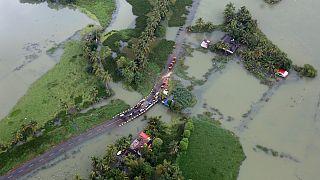 هند؛ تلفات ناشی از سیل در ایالت کرالا به ۴۱۰ نفر رسید