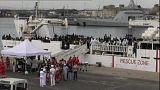 177 inmigrantes varados en Catania