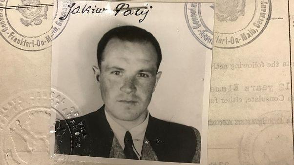 Jakiv Palij's 1949 US visa picture.