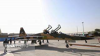 Iran unveils 'domestic' fighter jet, says military power deters US