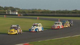 Watch: Vintage Citroëns battle it out in 24-hour endurance race