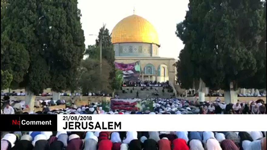 نماز عید قربان در مسجدالاقصی و کوزوو