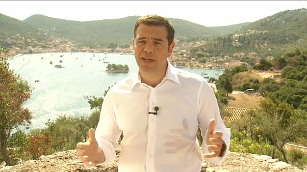 Tsipras will neue Ära Griechenlands einläuten
