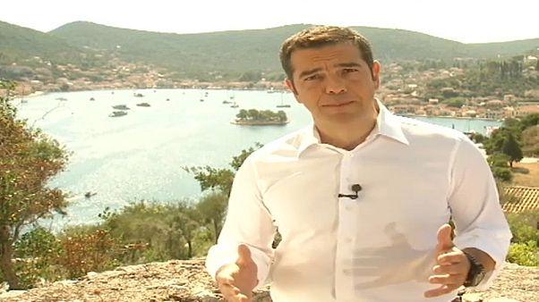 """Primeiro-ministro grego assinala primeiro dia de uma """"nova era"""""""