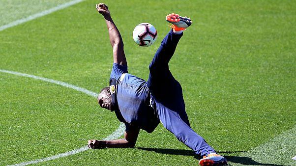 Usain Bolt cumpre primeiro treino na Austrália em dia de 32.° aniversário