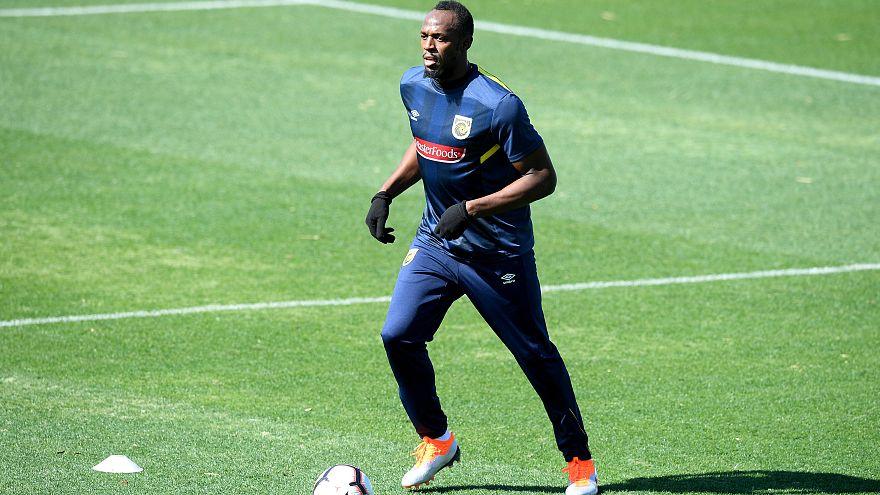 Bolt nimmt Training bei Central Coast Mariners auf