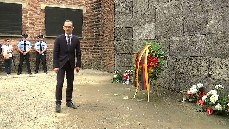 Maas, primer ministro de Exteriores alemán que visita Auschwitz en 26 años