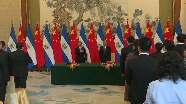 El Salvador nimmt diplomatische Beziehungen zu China auf