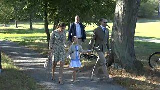 Schweden: Prinzessin Estelle freut sich auf die Schule