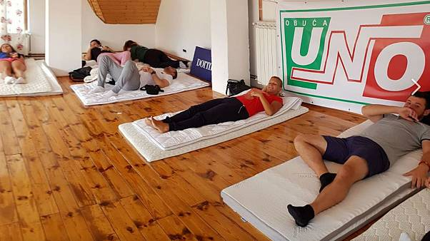 Sleepy Montenegrins win 'Lazy Olympics'