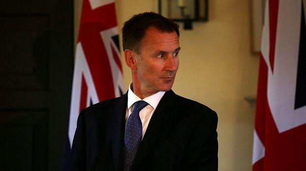 """İngiliz Dışişleri Bakanı Hunt: """"Putin'in dünyayı tehlikeli hale getiriyor."""""""