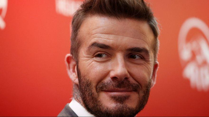 David Beckham sucede a Francesco Totti em prémio ganho por Eusébio