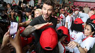 Beckham kapja az UEFA elnöki különdíját
