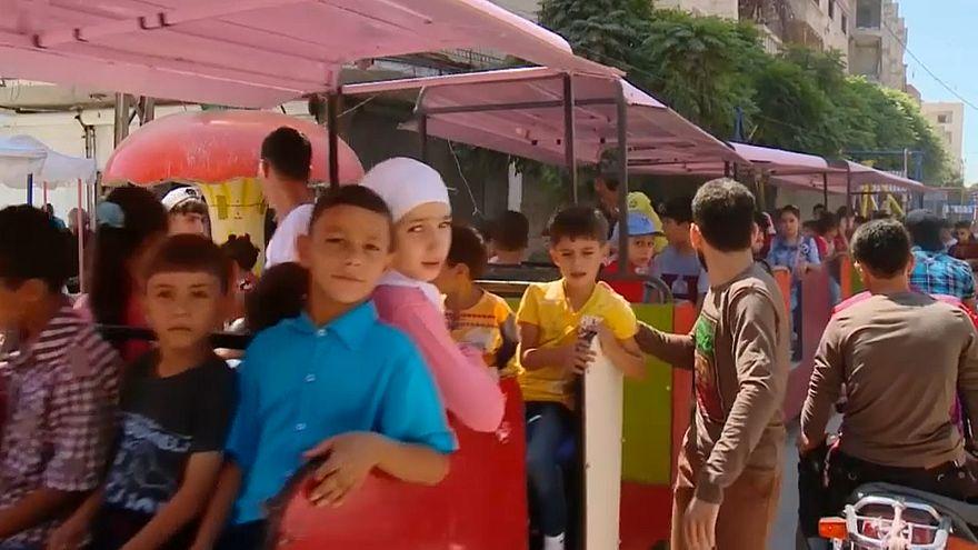 El Eid marca un paréntesis en la guerra siria