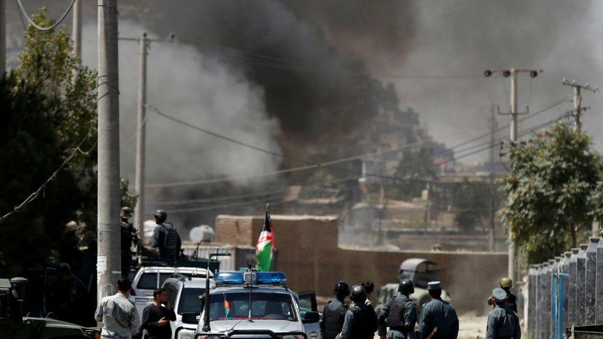 Rakétatámadás Kabulban